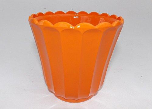 Orange Milk Glass Hobnail VTG Candy Dish (Hobnail Candy)