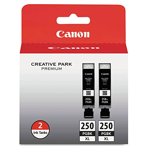 Canon PGI 250XL Black Cartridges 6432B004 product image