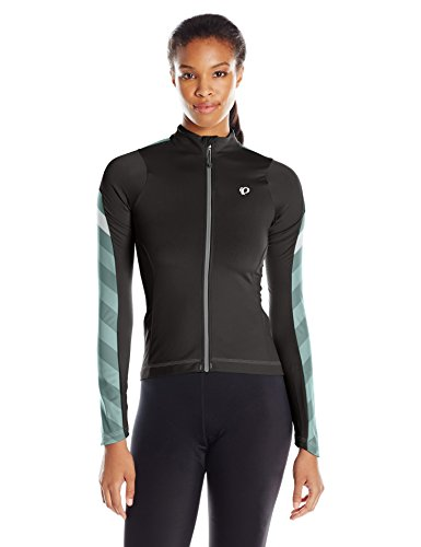 Pearl Izumi - Ride Women's Elite Pursuit Thermal Jersey, Black Stripe, Medium