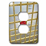 Danita Delimont - Architecture - USA, Pennsylvania, Pittsburgh. Love lock on Bridge - Light Switch Covers - 2 plug outlet cover (lsp_231567_6)