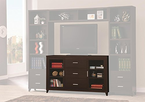 Coaster Home Furnishings 700881 CO-700881 TV Console Cappuccino - Chocolate Coaster