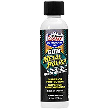 Amazon.com   Lucas 10878 Gun Metal Polish 4oz   Sports   Outdoors d67372d91e225