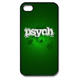 Psych Movie Comedy TV Series Image Protective Iphone 5s / Iphone 5 Case Cover Hard Plastic Case for Iphone 5 5s