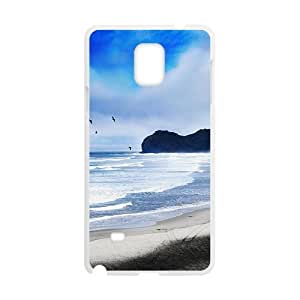 Blue Clouds Sky And Sea White Phone For SamSung Galaxy S5 Mini Case Cover