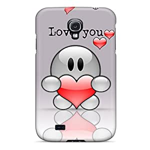 New Arrival Love You HBrHxQV1872WSgJY Case Cover/ S4 Galaxy Case
