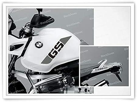 Black Doves Graphics 4pcs Aufkleber kompatibel f/ür Motorrad R1150GS BMW R1150 Adventure R 1150 GS Schwarz//Rot