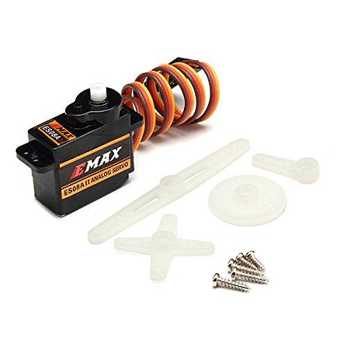 C&C Products Emax ES08A II Mini Plastic Gear Analog Servo 1.8kg/sec for RC Models