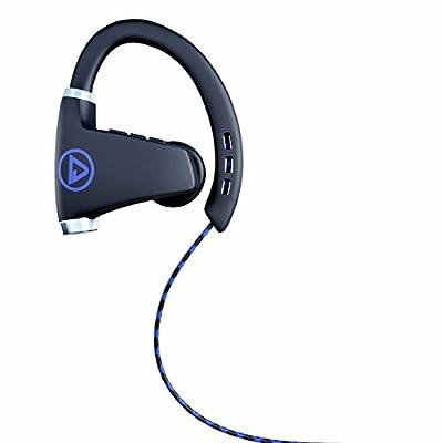 TrendHolders Bluetooth Headphones, Best Wireless Sports Earphones w/ Mic IPX7 Waterproof HD Stereo Sweatproof Earbuds for Gym Running Workout 12 Hour Battery Noise Cancelling Headsets