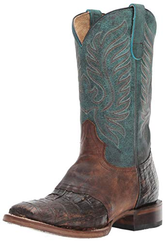 (ROPER Women's Sami Saddle Vamp Western Boot, Brown, 6.5 D US)