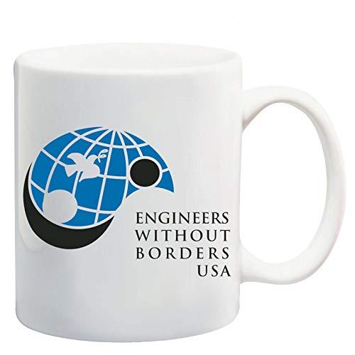 Manglam Mart Engineer Without Borders Usa Logo White Tea Coffee Mug Ceramic Coffee Tea Cup