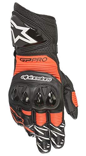 - Alpinestars GP PRO R3 Gloves (X-Large, 1030-Black Red Flourecent)