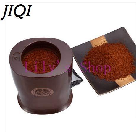 JIQI Household Electric Coffee Grinders Herbs Bean MINI Grain Shredder Mill Grinding Powder Machine Pulverizer by JIQI (Image #5)