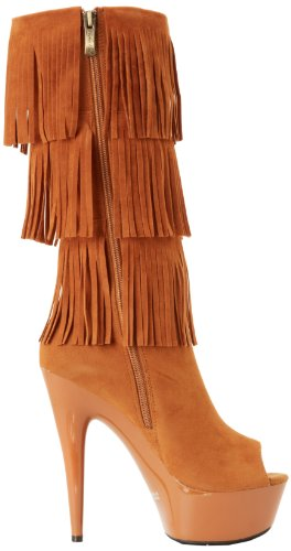302 Amber Polyurethane Heel Women's Boot The Camel Suede Highest waHBqAII