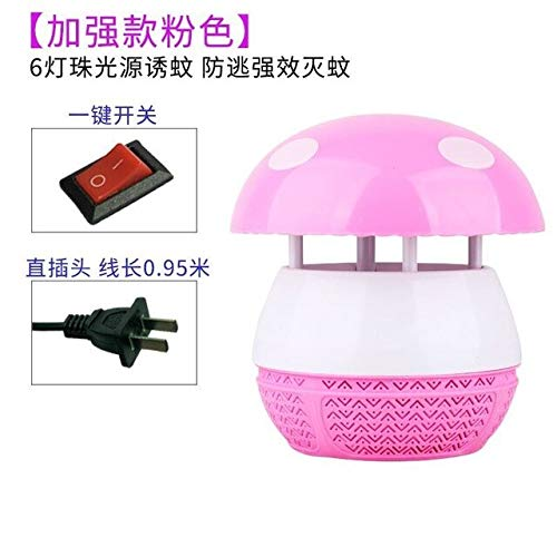 Outdoors Mushroom Baby Student Trap Nothing Radiation The Mosquito Lamp Household Restaurant Battery Type Hotel Mosquito Organ   2