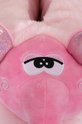 pantouffles Boutique The Nouvelles Nelly confortables Elephant pour animakes Loungeable femmes 7ESwdSq