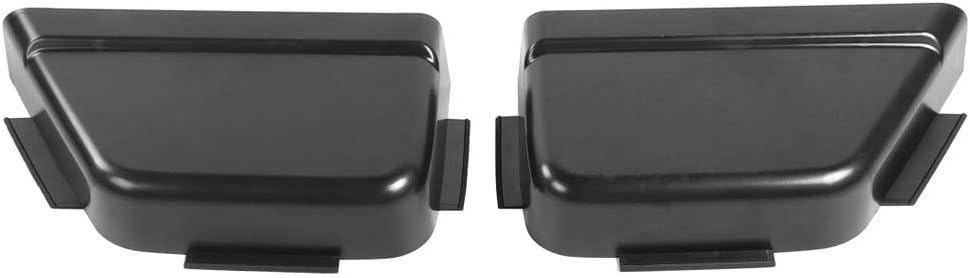 Jeep JL ABS Rear Door Storage Tray Organizer Car Back Door Pocket Storage Accessories for Jeep Wrangler JL JLU 2018-2019 4-Doors