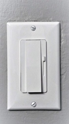 LED Dimmer Switch- UL Listed- with Wall Plate 150 Watt LED/CFL 700 Watt Incandescent Dimmer