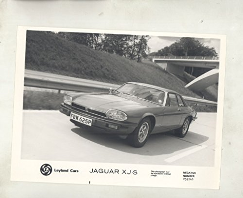 1976 Jaguar XJS RHD British Model ORIGINAL Factory - Models Xjs