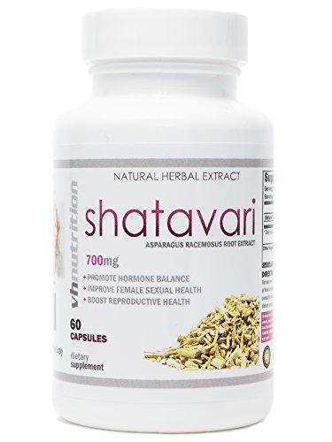 Shatavari   700mg Asparagus racemosus Capsules   Female Vitality & Rejuvenation   30 Day Supply