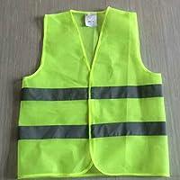 R/éfl/échissant Gilet Davertissement V/êtements De Travail Haute Visibilit/é Jour Nuit Gilet De Protection pour Courir Cyclisme S/écurit/é du Trafic