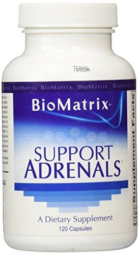 BioMatrix Support Adrenals 120 Capsules product image