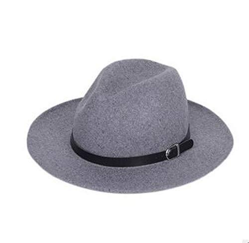 - CORATO 1pcs/lot European Style Fashion Fedoras Fashion Winter Autumn Cap Woolen Blend Cap Outdoor Casual hat Women Men