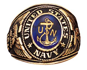 Rothco Deluxe Navy Military Ring, 10 Size ()