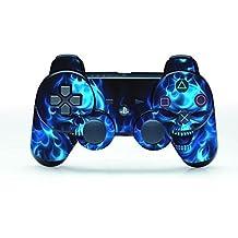 UUShop PS3 Vinyl Skin Sticker Decal for PlayStation 3 Controller Joystick - Blue Daemon