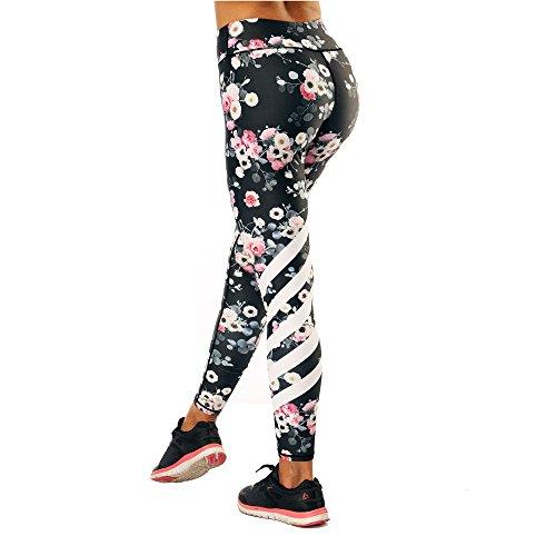Legging Legging Femme Amoma Femme Floral Legging Amoma Femme Floral Amoma 86wnx