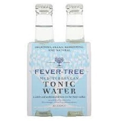 Fever-Tree Medit Tonic Water (6x4Pack ) by Fever-Tree