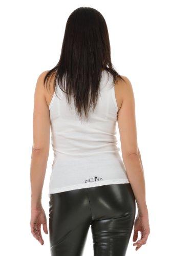 mujer blanca Camiseta de verano duende para de estampado mariposa 3elfen con de ZZOqfwB4