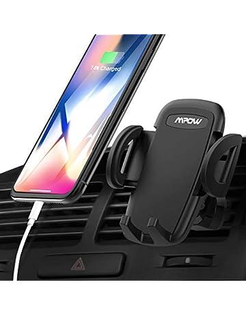 Mpow Support Téléphone Voiture Rotation 360 Degrés Ajustable Support  Téléphone Universel à Grille d aération 382f9976529