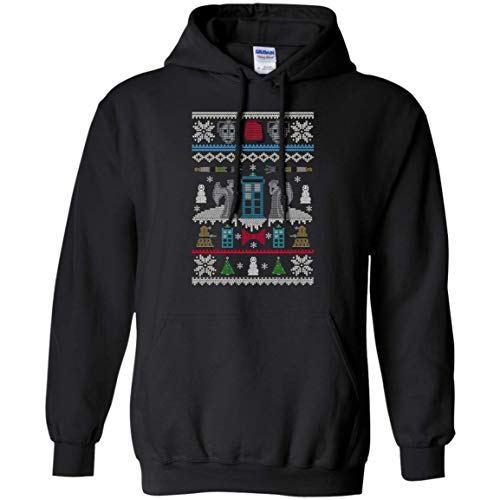 Doctor Who Ugly Sweater Hoodie
