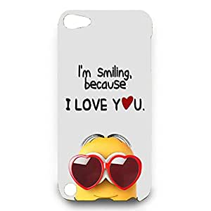 Cartoon Dispicable Me Minion Minions Back Cover Protective Hard Back Cover Minion31 For Ipod Touch 5th 3D Hard Cover Case