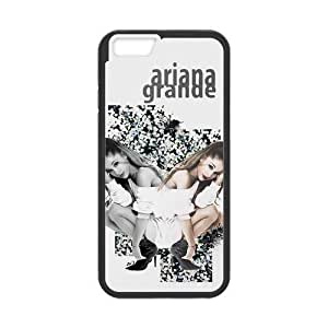 Individuality Custom Designed Cover Case For Iphone 6s 5.5 Inch TPU Phone Case With American Popular Singer Actress Ariana (Laser Technology)