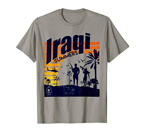Iraqi Summers Veteran Tshirt Funny Iraq Veteran Tee