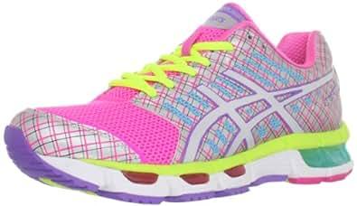 ASICS Women's Gel-Cirrus33 Running Shoe,Neon Pink/White/Purple,13 M US