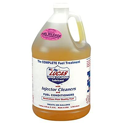 LUCAS LUC10013 1 Gallon (128 Ounces) Fuel Treatment