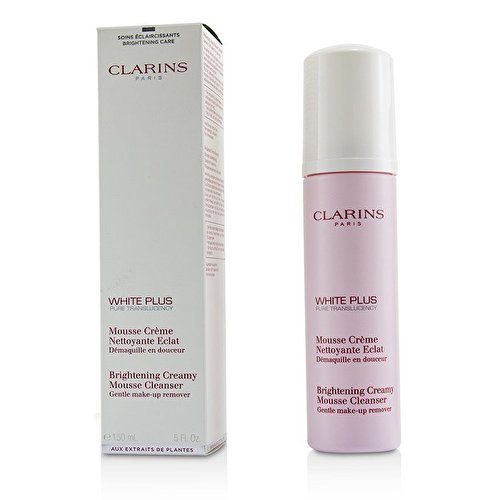 Clarins White Plus Pure Brightening Creamy Mousse Cleanser 150ml