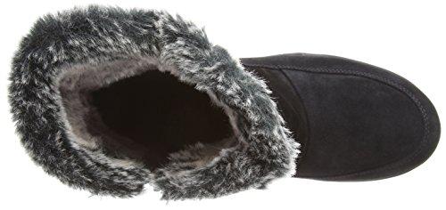 Gabor Dahni - botas de cuero mujer azul - azul (azul oscuro ante)