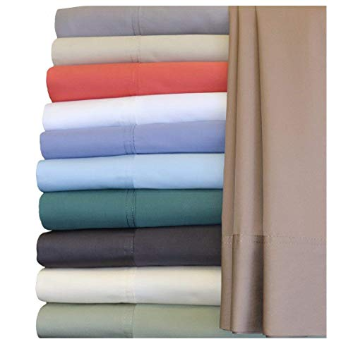 Deluxe Soft Hyprid Bamboo and Cotton Blend Sheet Set. Sateen Weave, Silky and smooth to the touch. Hypo Allergenic, 18