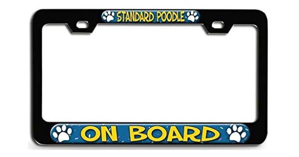 Amazon.com: YEX Abstracto estándar caniche a bordo perro (1 ...