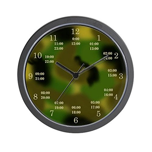 CafePress - military time camo clock - Unique Decorative 10