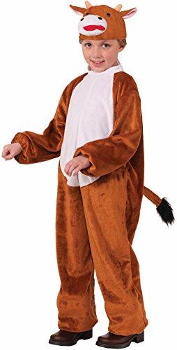 Forum Novelties Nativity Cow Costume, Child Large (Plush Cow Mascot Costume)