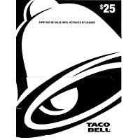 Taco Bell Gift Card $25