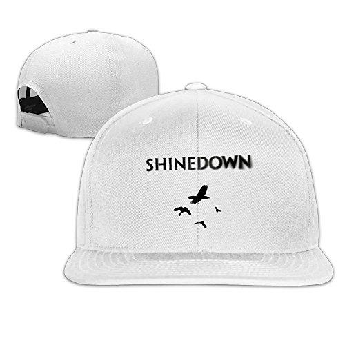 - RobertJ.Rivera Unisex Woman's Man Shinedown The Sound of Madness Basketball Cotton Headgear White