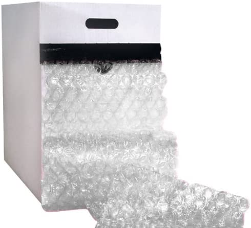 The Packaging Wholesalers 24-Inch x 65-Feet 1//2-Inch Large Bubble Dispenser Pack CBD1224