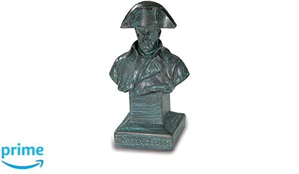 Perchero con busto Napoléon, color bronce: Amazon.es: Hogar