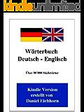 Wörterbuch Deutsch - Englisch