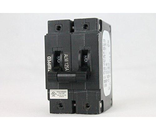 AIRPAX CIRCUIT BREAKER LMLHPK11-1RLS4-30678-1 125A BULLET DOUBLE POLE by Airpax